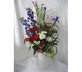 Patriotic Celebration Bouquet in Tempe AZ, God's Garden Treasures