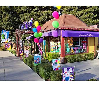Our Shop in San Ramon CA, Enchanted Florist & Gifts