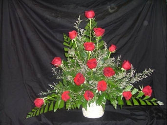 Basket of Life - Red in Sun City Center FL, Sun City Center Flowers & Gifts, Inc.