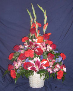 Our Thoughts - Basket in Sun City Center FL, Sun City Center Flowers & Gifts, Inc.