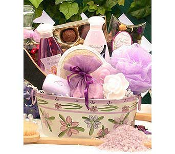 Tranquility Bath & Body Spa Gift in Oak Hill WV, Bessie's Floral Designs Inc.