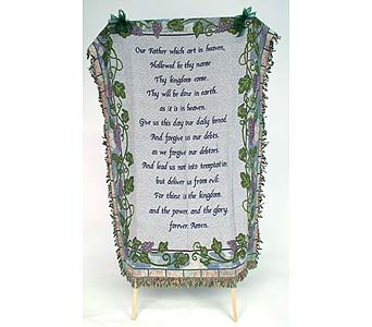 The Lord's Prayer in Indianapolis IN, Gillespie Florists
