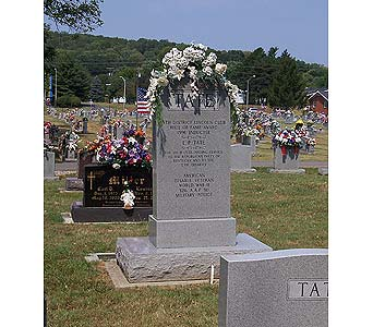 Cemetery Tributes in Dry Ridge KY, Ivy Leaf Florist