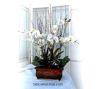 Silk Orchid in Lake Forest CA, Cheers Floral Creations