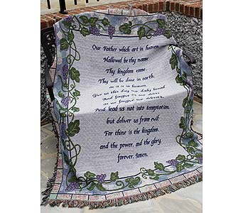 The Lord's Prayer in Mount Vernon OH, Williams Flower Shop