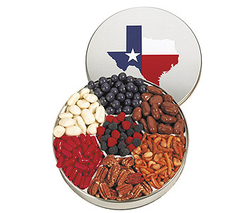 Texas Gift Tin in Dallas TX, Goodies from Goodman
