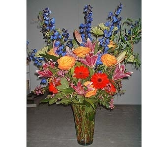 Golden Sky mix in Dallas TX, Z's Florist