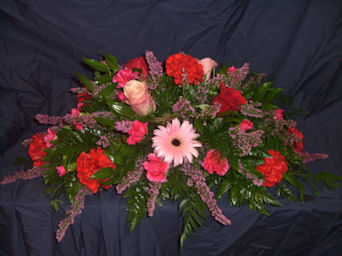 Pink & Red Center Piece in Sun City Center FL, Sun City Center Flowers & Gifts, Inc.