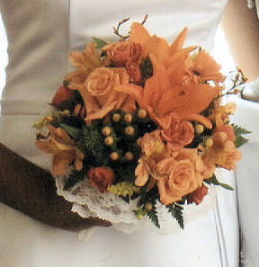Marva''s Wedding Bridesmaids Bouquet in Sun City Center FL, Sun City Center Flowers & Gifts, Inc.