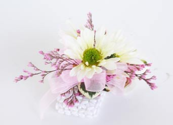 Daisy Corsage in Raleigh NC, North Raleigh Florist
