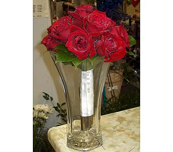 Sparkling Red RosePlease call for more info 888-279-7845 in Manotick ON, Manotick Florists