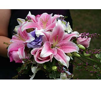 Pink and Purple BridesmaidPlease call for more info 888-279-7845 in Manotick ON, Manotick Florists