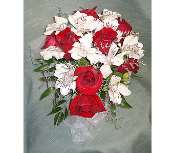 Red and White GlitterPlease call for more info 888-279-7845 in Manotick ON, Manotick Florists