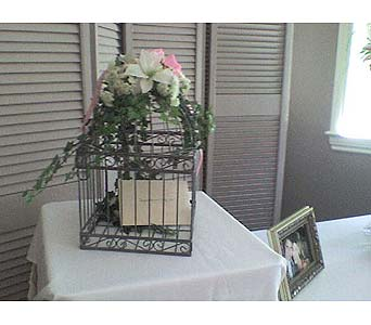 Bird Cage Gift Card HolderPlease call for more info 888-279-7845 in Manotick ON, Manotick Florists