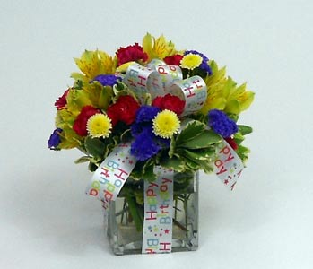 Birthday Present Bouquet in Royersford PA, Three Peas In A Pod Florist
