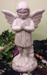 Classic Angel Praying in Owensboro KY, Welborn's Floral Company