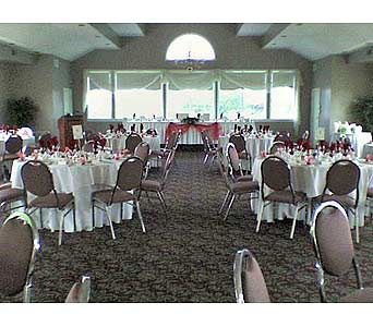 Orchardview Red and White ReceptionPlease call for more info 888-279-7845 in Manotick ON, Manotick Florists