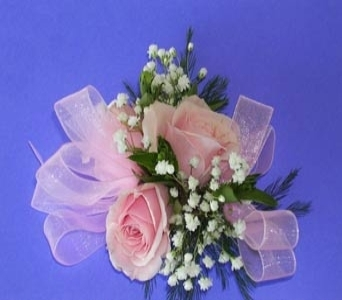 Spray Rose Corsage in Raleigh NC, North Raleigh Florist