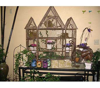 Bird Cage in Bakersfield CA, All Seasons Florist