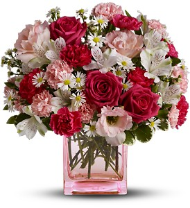 Teleflora's Pink Dawn Bouquet - Deluxe in Hendersonville TN, Brown's Florist