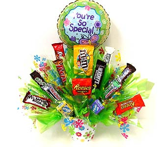 CB271 ''You're So Special'' Candy Bouquet in Oklahoma City OK, Array of Flowers & Gifts