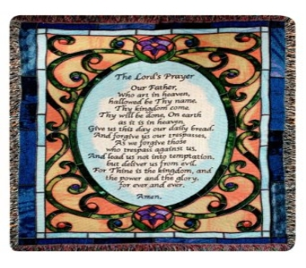 Lord''s Prayer Throw in Covington KY, Jackson Florist, Inc.