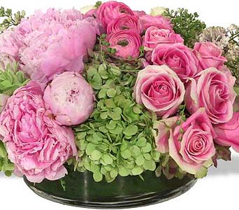 Soft and Low in New York NY, Fellan Florists Floral Galleria