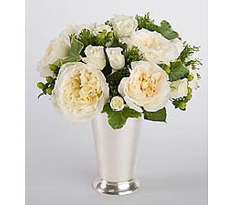 Mint Julep Cup Bouquet in Bellevue WA, CITY FLOWERS, INC.