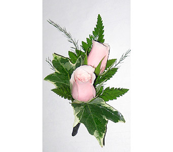 Pink Sweetheart Rose Boutonniere in Wyoming MI, Wyoming Stuyvesant Floral