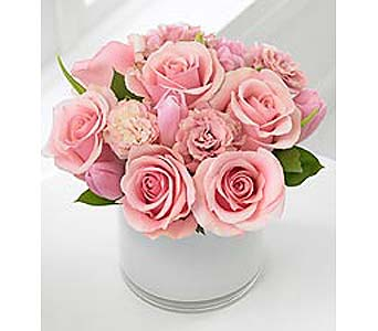 Pink Dream Bouquet in Bellevue WA, CITY FLOWERS, INC.