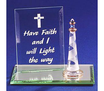Have Faith and I Will Light in Lake Forest CA, Cheers Floral Creations