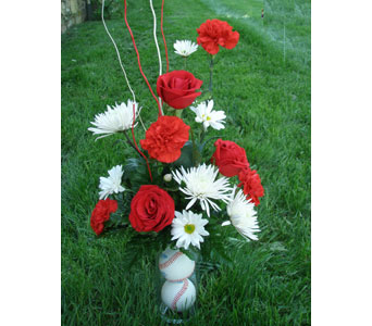 Baseball Bouquet in Norristown PA, Plaza Flowers