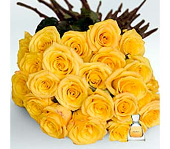 YELLOW ROSES in Bellevue WA, CITY FLOWERS, INC.