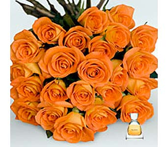 ORANGE ROSES in Bellevue WA, CITY FLOWERS, INC.