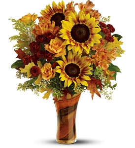 Teleflora's Artful Autumn Bouquet - Deluxe in Lenexa KS, Eden Floral and Events