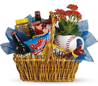 Dad''s Day Ball Park Snack Basket in McLean VA, MyFlorist