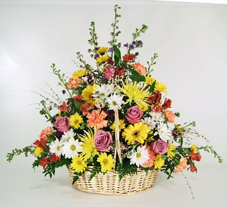You''re in our thoughts in Ogdensburg NY, Basta's Flower Shop