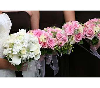 Pink & White Wedding in Salisbury MD, Kitty's Flowers