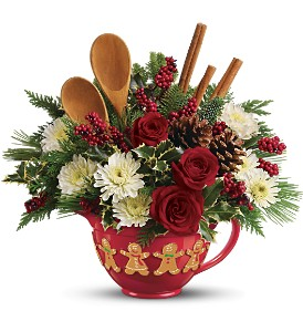 Teleflora's Mixing Bowl Bouquet in Frankfort IN, Heather's Flowers