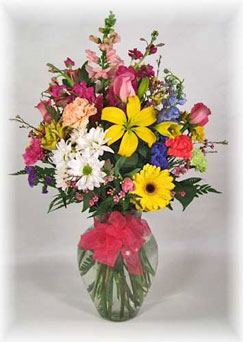 Bountiful Bouquet in Ogdensburg NY, Basta's Flower Shop