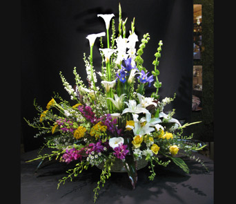 Seasonal Funeral Basket in Washington DC, Greenworks By Shane