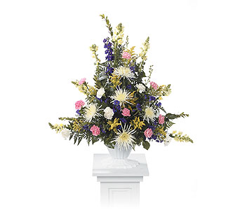 Pedestal Arrangement in Kingman AZ, Heaven's Scent Florist