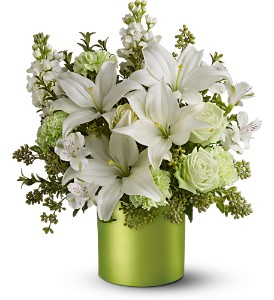 Teleflora's Sea Spray - Deluxe in Olean NY, Uptown Florist