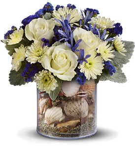 Teleflora's Summertime Surf in New York NY, Starbright Floral Design