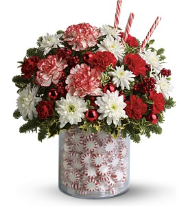 Teleflora's Holiday Surprise Bouquet in Oklahoma City OK, Array of Flowers & Gifts