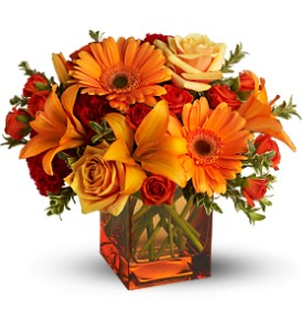 Teleflora's Sunrise Sunset - Deluxe in Fort Worth TX, TCU Florist