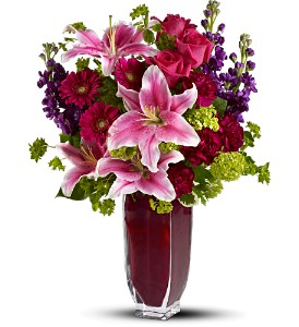 Teleflora's Cheek to Cheek in Orange CA, Main Street Florist