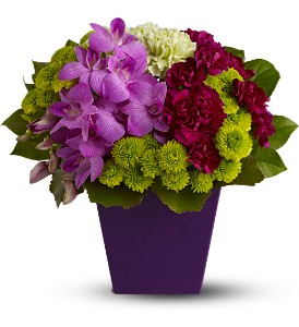 Teleflora's European Blooms in Arlington VA, Twin Towers Florist