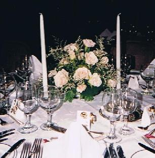 White Rose Centrepiece in Ottawa ON, The Fresh Flower Company