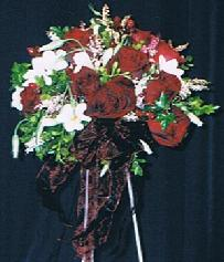 Red and White Bouquet in Ottawa ON, The Fresh Flower Company